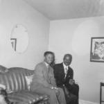 Freddie and Midge's father, Milton Banks, Oct. 1957